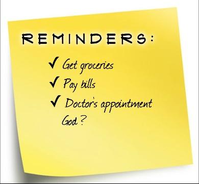 Reminders Promo