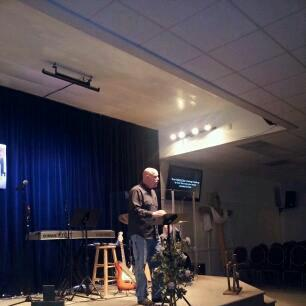 Preaching at OOTBWC January 2013
