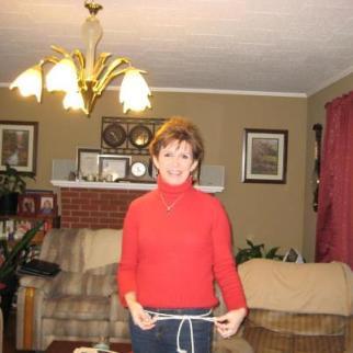 Circle maker Judy Martin
