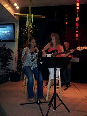 Ashton and LeighAnne Worship Leading
