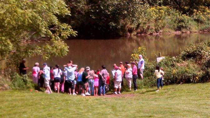 August 2013 River Baptism
