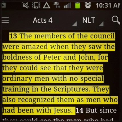 Acts 4 be bold